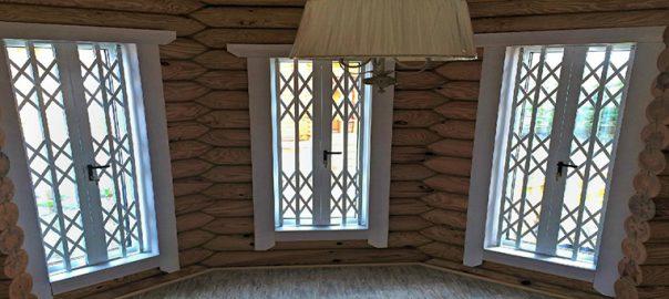 Заказать металлические решетки на окна в Сочи