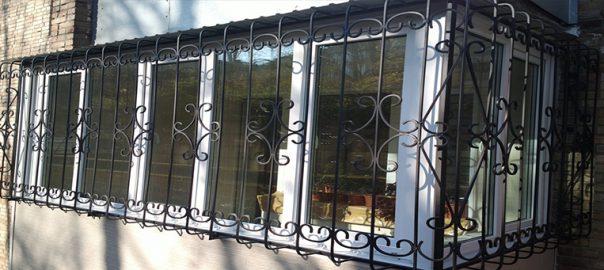 Заказать решётки на окна в Сочи